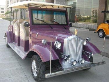 電動8人乗り クラッシックカー YMJ-L608
