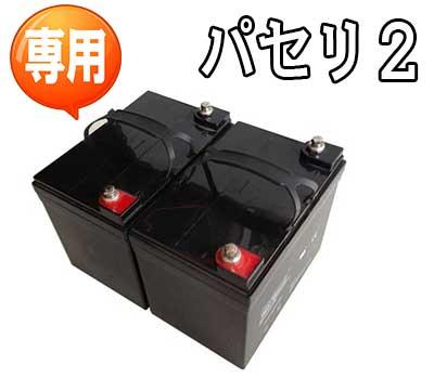 パセリ2専用鉛酸バッテリー